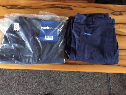 Navy Drill Work Trousers 92R new