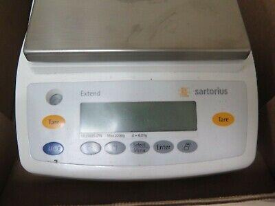 Sartorius Ed2201-cw Extend Precision Balance 2200 X 0.1 G Analytical Scale