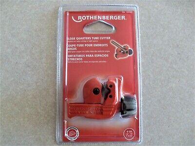 Rothenberger Heavy Duty Close Quarters Mini Tubing Cutter 78 Capacity 70105