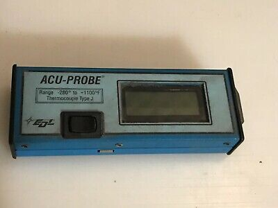 Edl Digital Acu-probe Type J Thermocouple -280 To 1100 F