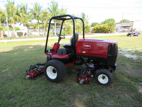 "Toro Reelmaster 6500-D Diesel -  96"" cut  Reel Lawn Mower Model # 03806"