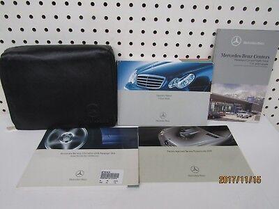 2006 Mercedes Benz C Class Sedan Owners Manual Set    FREE SHIPPING