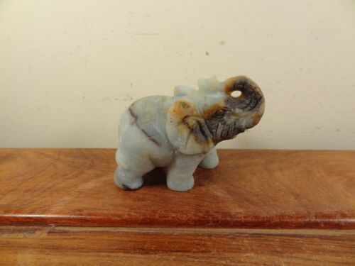 Natural Agate Carving Elephant