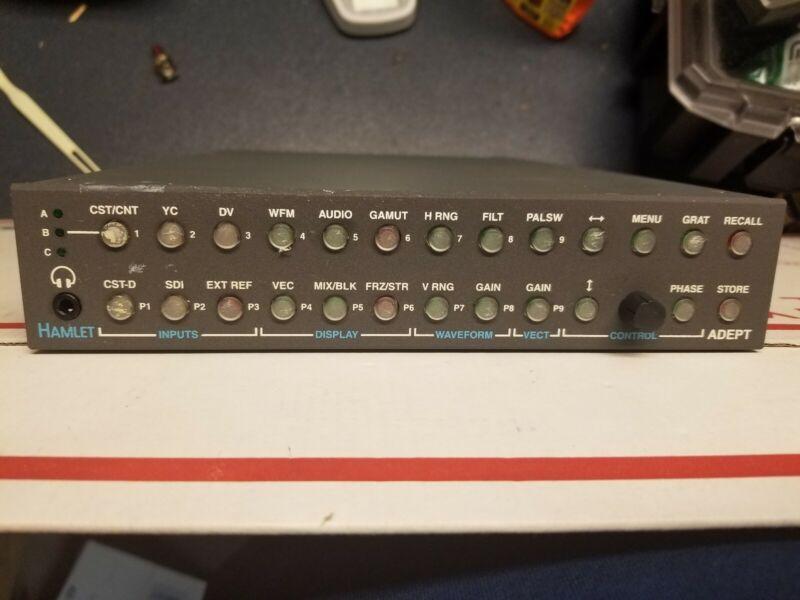 Analog & Standard Definition SDI Waveform Monitor Hamlet Adept A700WVA