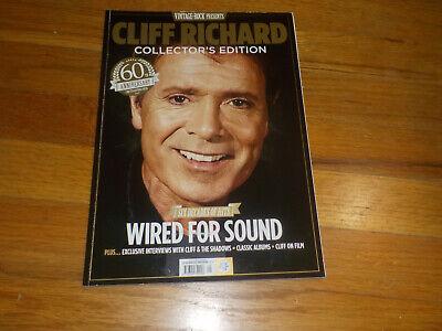 Vintage Rock Presents Cliff RIchard Magazine Wired For Sound