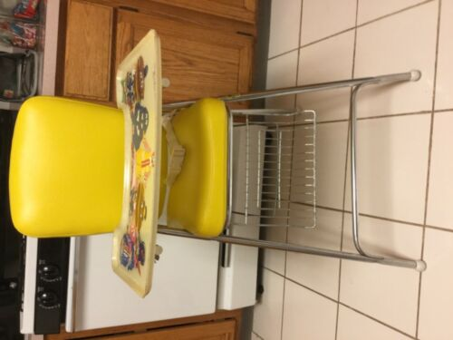 Vintage McDonald's high chair