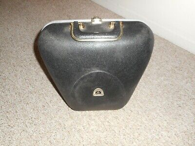 Vintage Hard Case Clam Shell One Ball Bowling Ball Bag