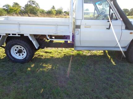 1998 Toyota Landcruiser HZJ75 DIESEL Ute, extended chassis Riverview Ipswich City Preview