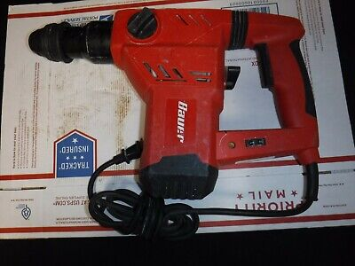 Bauer 1641e-b 1-18 In. Sds Hammer Drill Good Condition