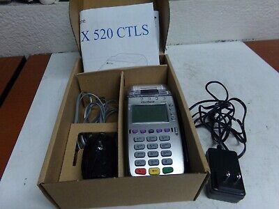 Verifone Vx520 Ctls New Credit Card Terminal - Dual Comm