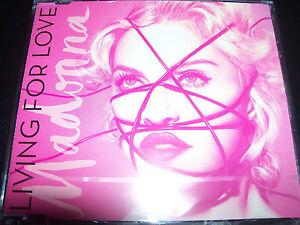 Madonna Living For Love EU CD Single - NEW