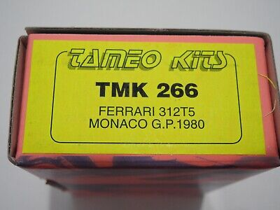 1/43 KIT 266 Tameo Ferrari 312T5 Monaco GP 1980 Formula 1 AMR BBR GTO