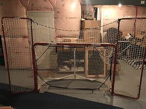 Ez-goal hockey net mint condition