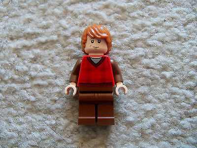 LEGO Harry Potter - Rare Ron Weasley Minifig - From 10217 Diagon Alley
