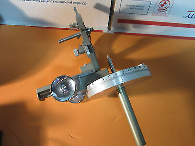 Goniometer Part X-ray Diffraction Or Optics Sample Holder With Micrometer Bin16