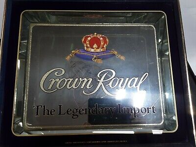 Vintage CROWN ROYAL The LEGENDARY Import Sign/ Mirror