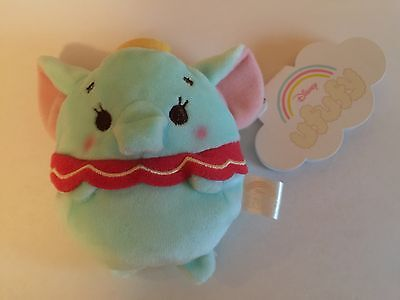 Disney Store Japan Dumbo Ufufy Scented Small Coin Purse Plush New With Tags