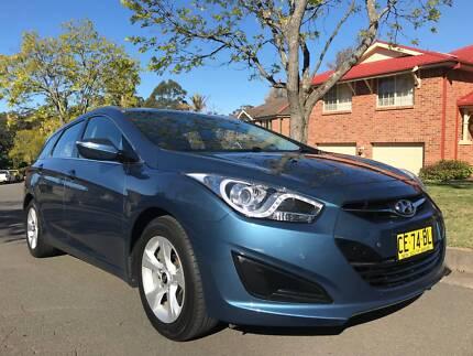 2013 HYUNDAI i40 ACTIVE TOURER WAGON IDEAL UBER CAR! Castle Hill The Hills District Preview