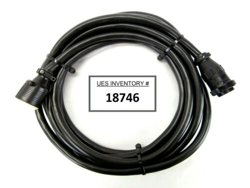 Leybold 857 66 5M TURBOTRONIK to TURBOVAC Turbomolecular Pump Cable Unmarked