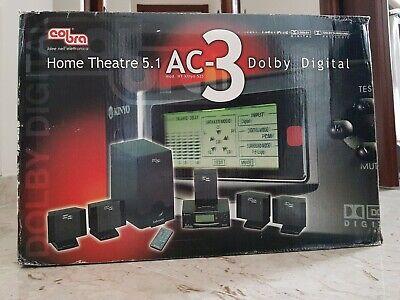 Sistema home theatre 5.1 Cobra mod.HT KINYO 525 AC-3 Dolby Digital
