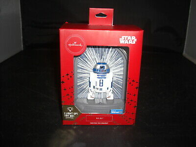 v2019 Hallmark Christmas Tree Light-up Star Wars R2-D2-Walmart Exclusive