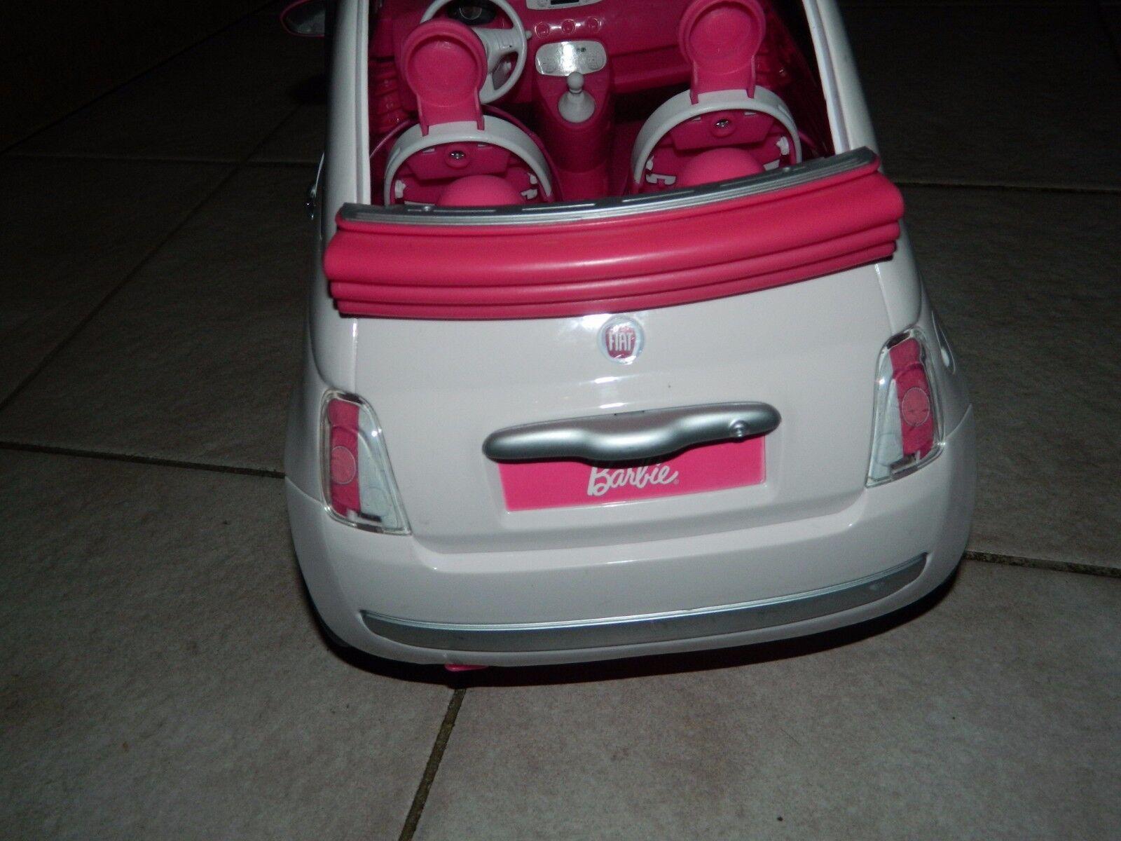 fiat 500 cabrio wei innen pink edles auto mit chrom. Black Bedroom Furniture Sets. Home Design Ideas