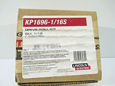 Lincoln Cored Drive Roll Wire Guide Kit Kp1696-116c Cable Welding New