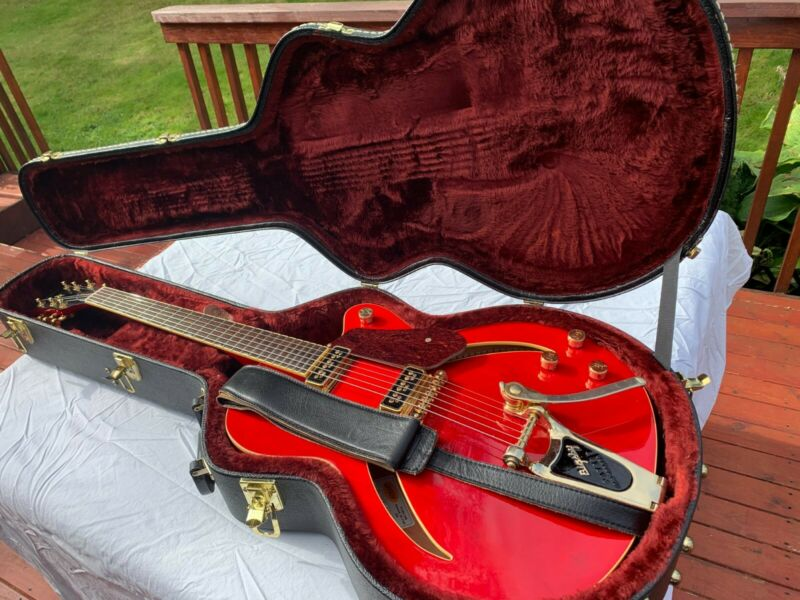 Gretsch electric guitar Red G3155 Hollow body