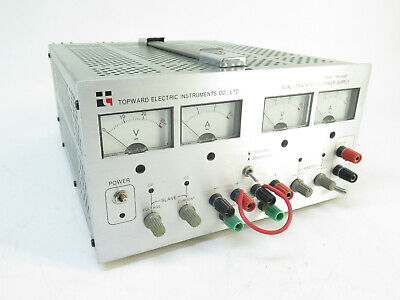 Topward Tps-4000 Dual Tracking Dc Power Supply Electric Instrument - Analog
