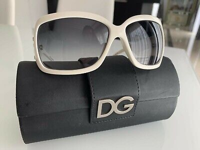 dolce gabbana sonnenbrille weiss NEUWERTIG D&G dg sun glasses white
