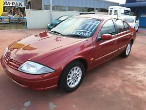 FORD FALCON AU LONG REGO LOW KS BACKPACKER PERFECT CHEAP
