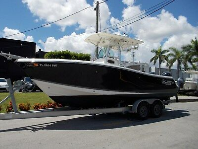 2014 Mako 234 Center Console with twin Mercury 4 strokes & Aluminum Trailer