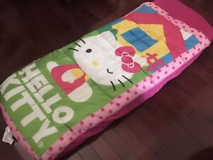 Lit enfant gonflable hello kitty