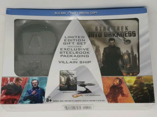 Steelbook Star Trek Into Darkness Blu-ray Hot Wheels Villain