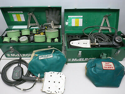 Mcelroy Socket Fusion Plastic Welder Aquatherm Pipe Fusion Machine