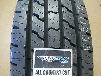 2 New LT 24575R16 Ironman All Country CHT Tires 245 75 16 2457516 75R 10 Ply