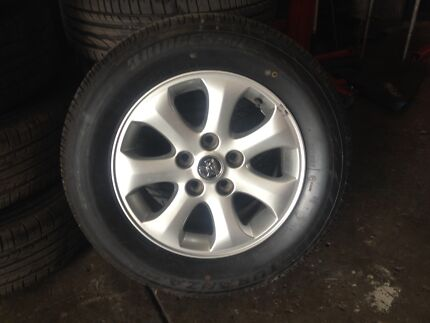 VT to  VE  Holden Commodore  TYRES & RIMS $200 Brendale Pine Rivers Area Preview