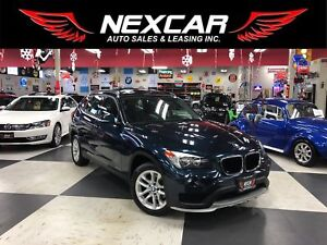 2015 BMW X1 DRIVE AUT0 AWD LEATHER PANO/ROOF P/SEAT 87K