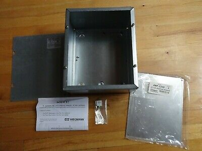 Hubbell Wiegmann Steel Enclosure 12 X 10 X 6 W Aluminum Sub Panel Jic Box New