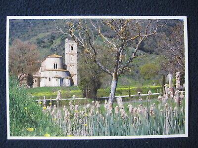 Abbazia Di Saint' Antimo Montalcino Italy Postcard