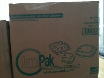 Innopak Rigid Microwavable Take Out Container