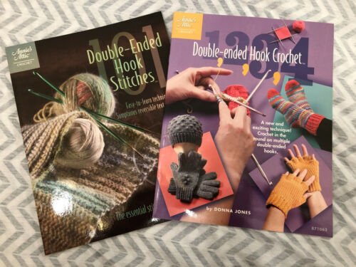 Paperback Books on Double-Ended Hook Crochet Stitches