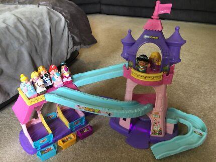 Little people klip klop princess stable