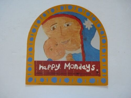 Happy Mondays...yes, Please! LP Record Photo Flat 11x12 Poster