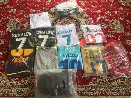 Soccer jersey and pants and jumper for sale