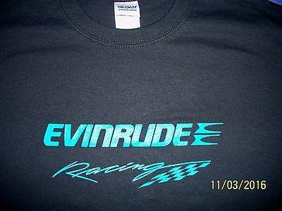 - Evinrude Racing Screen Printed T-Shirt 6 oz.100% Cotton Sm-5XL