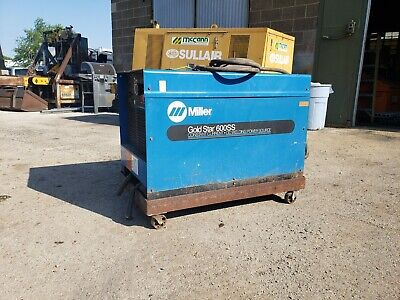 Miller Goldstar 600ss Welder With Cart Stick Tig