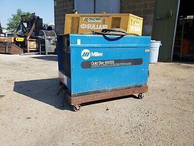Miller Goldstar 600ss Welder With Cart Stick Tig