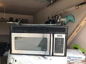 "30"" GE stainless steel over the range Microwave"