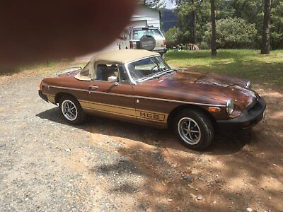 1978 MG MGB special edition 1978 mgb roadster convertible